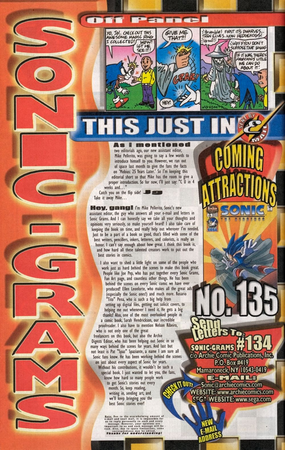 Read online Sonic The Hedgehog comic -  Issue #134 - 32
