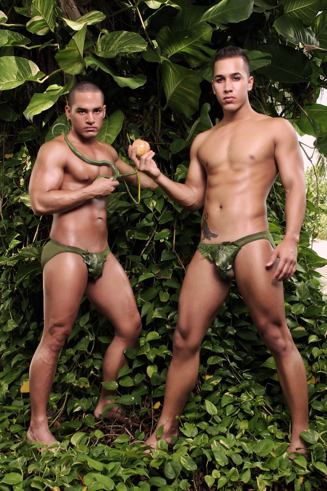 Sexy Naked Puerto Rican Men