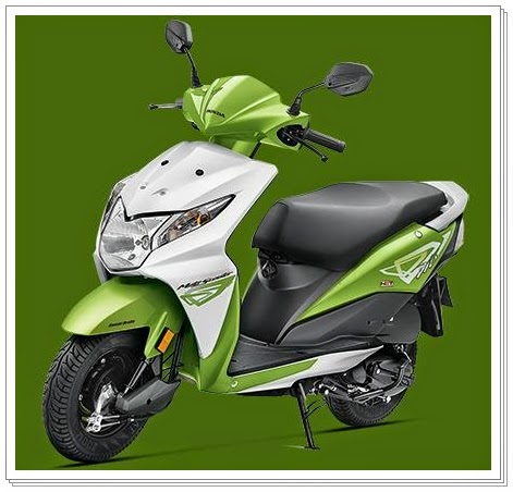 Honda Dio Green Color