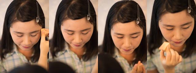 trang điểm Yến Lê, đánh kem nền cô dâu,makeup tận nhà,make up hè 2015