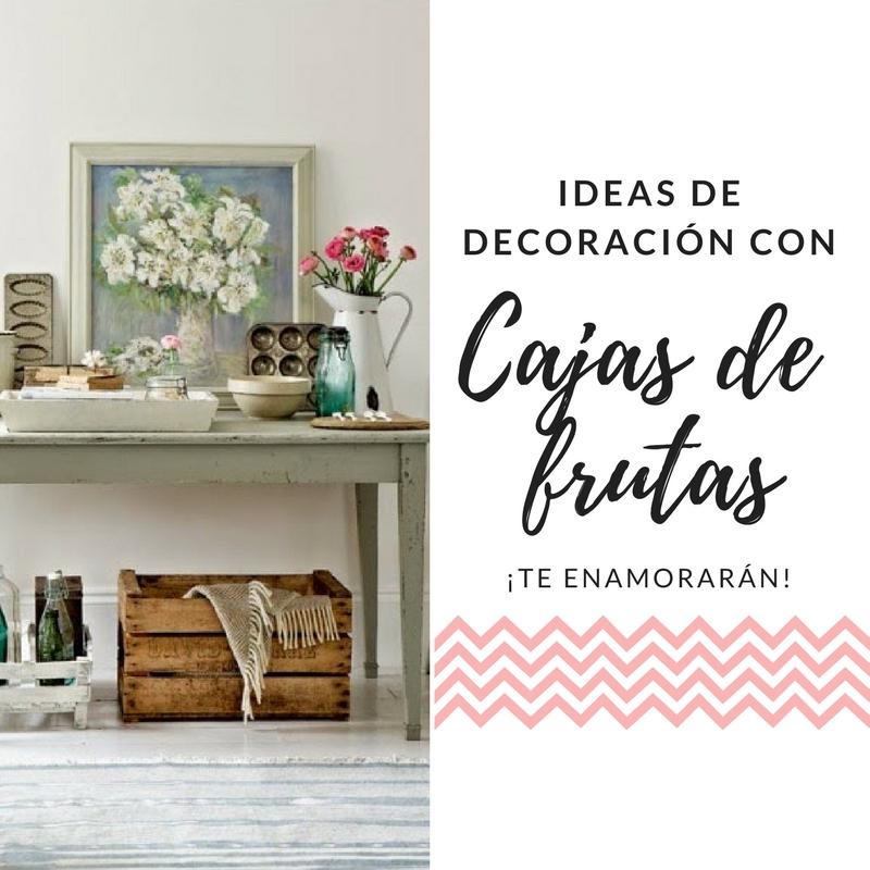 12 Ideas Para Decorar La Casa Con Cajas De Madera Latvdp