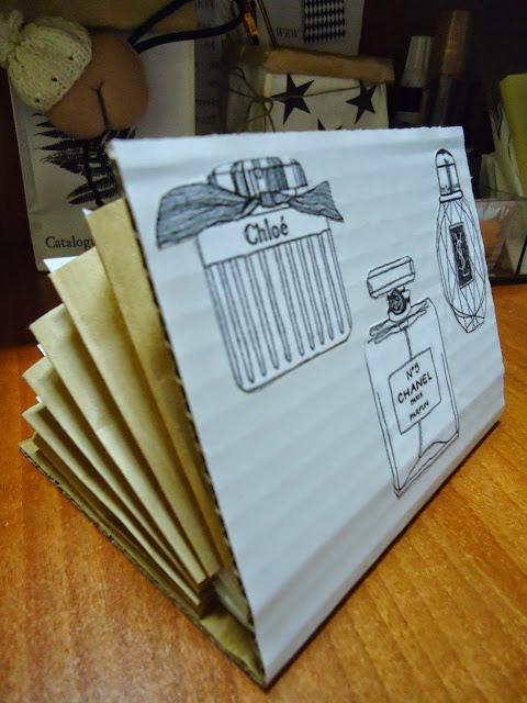 papierowy segregator DIY