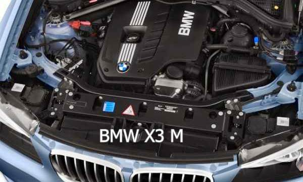 2017 BMW X3 M Sport Engine