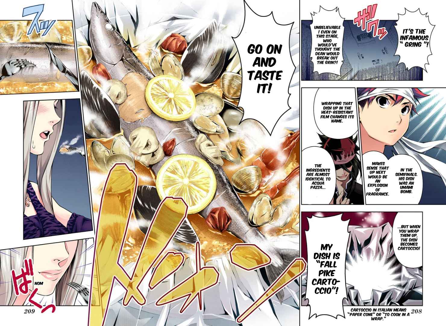 Shokugeki no Soma - Chapter 113