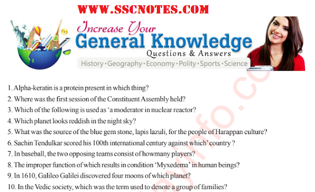 Top 5000 GK Questions and Answers PDF Download – All Competitive Exams