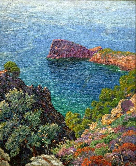 Ricardo Canals Llambí, Sa Foradada, Mallorca en pintura, Mallorca pintada, Paisajes de Mallorca