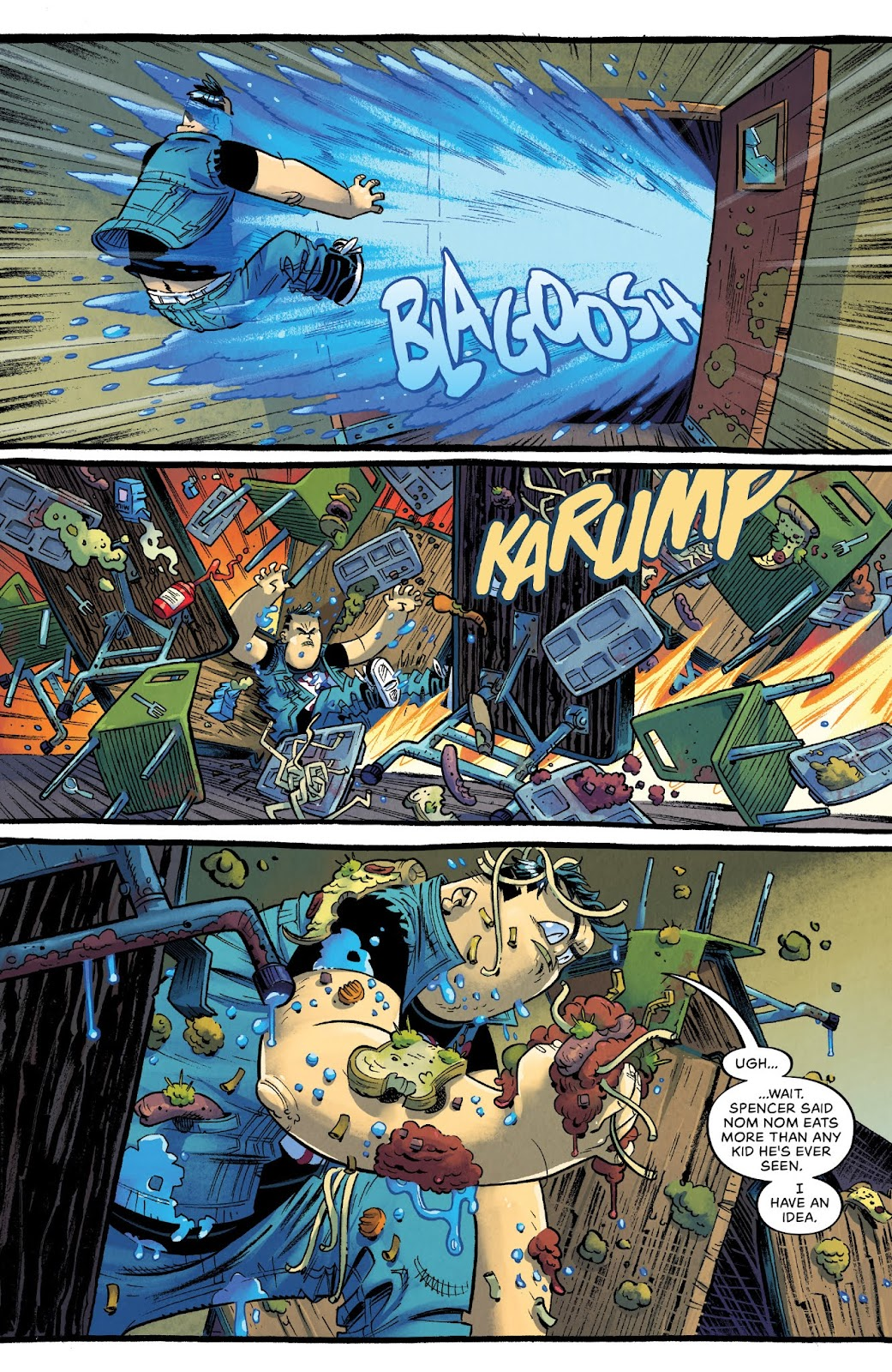 Read online Bully Wars comic -  Issue #4 - 7