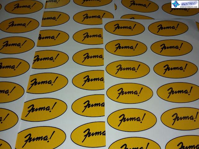 Kiss Cut Sticker Label Sheets - Fuma Philippines