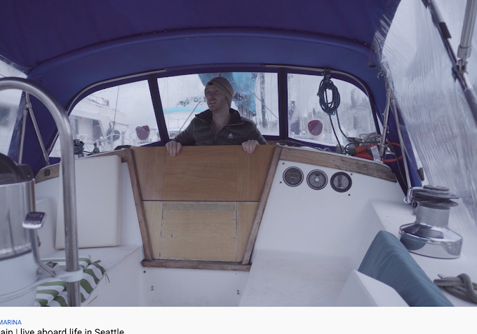 Seattle Entrepreneur Vlogs Living on a Boat... and Persevering!