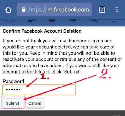 Facebook ko permanently delete kaise kare