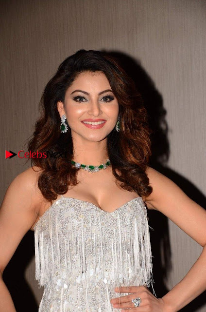 Bollywood Actress Model Urvashi Rautela Stills at Her 23rd Birthday Celebrations In Mumbai  0001.jpg
