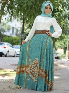 Contoh Model Baju Muslim Untuk Pesta Terbaik