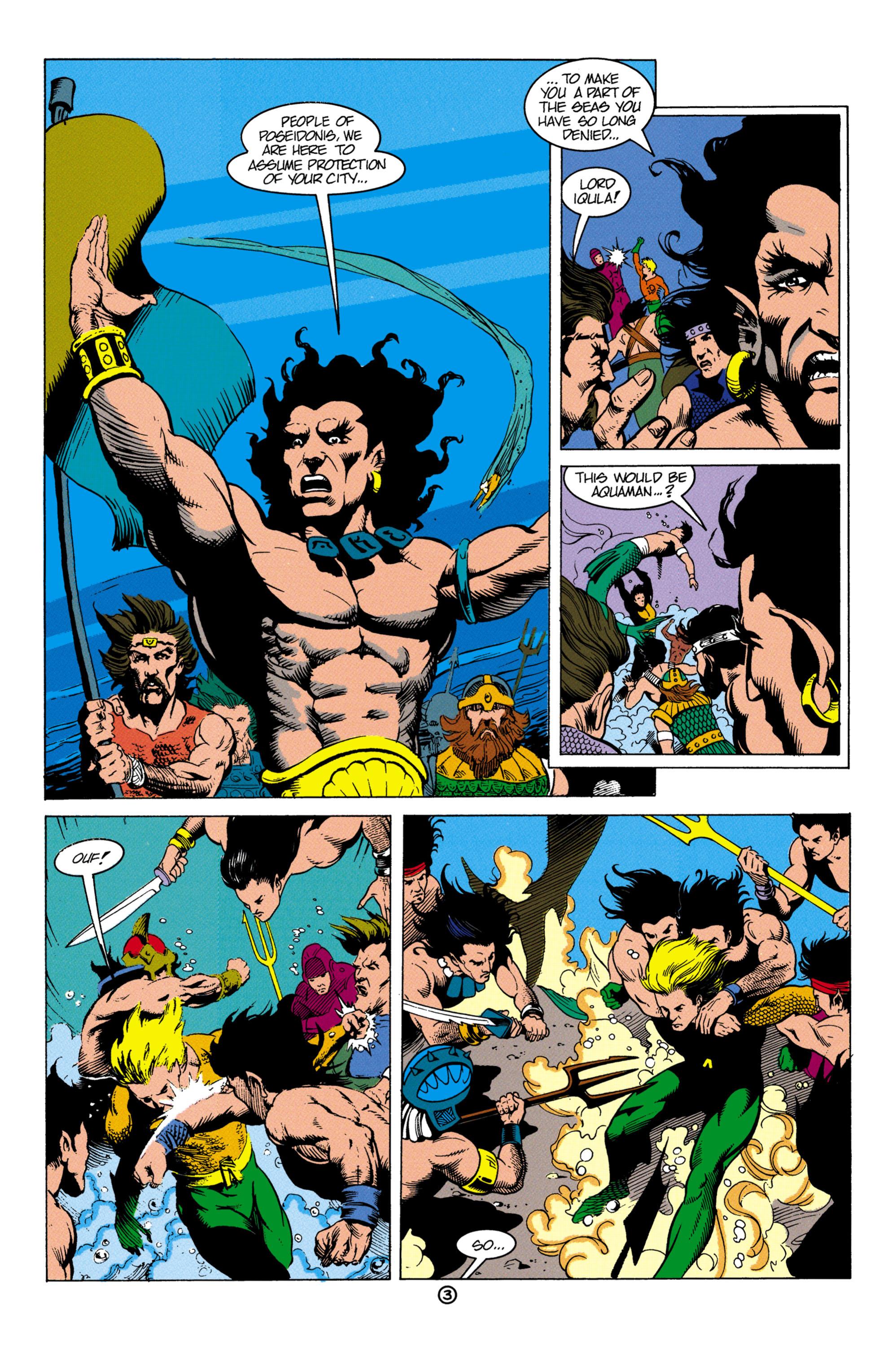 Read online Aquaman (1991) comic -  Issue #4 - 4