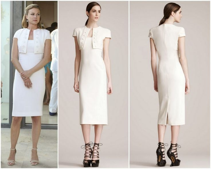 Emily VanCamp in Alexander McQueen- Seen On 'Revenge'
