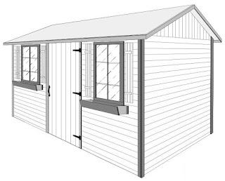 Cedar Garden Shed Plans