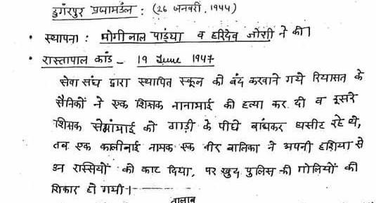 Download Rajasthan Praja Manda (राजस्थान में प्रजा मण्डल) Notes in Hindi for Free
