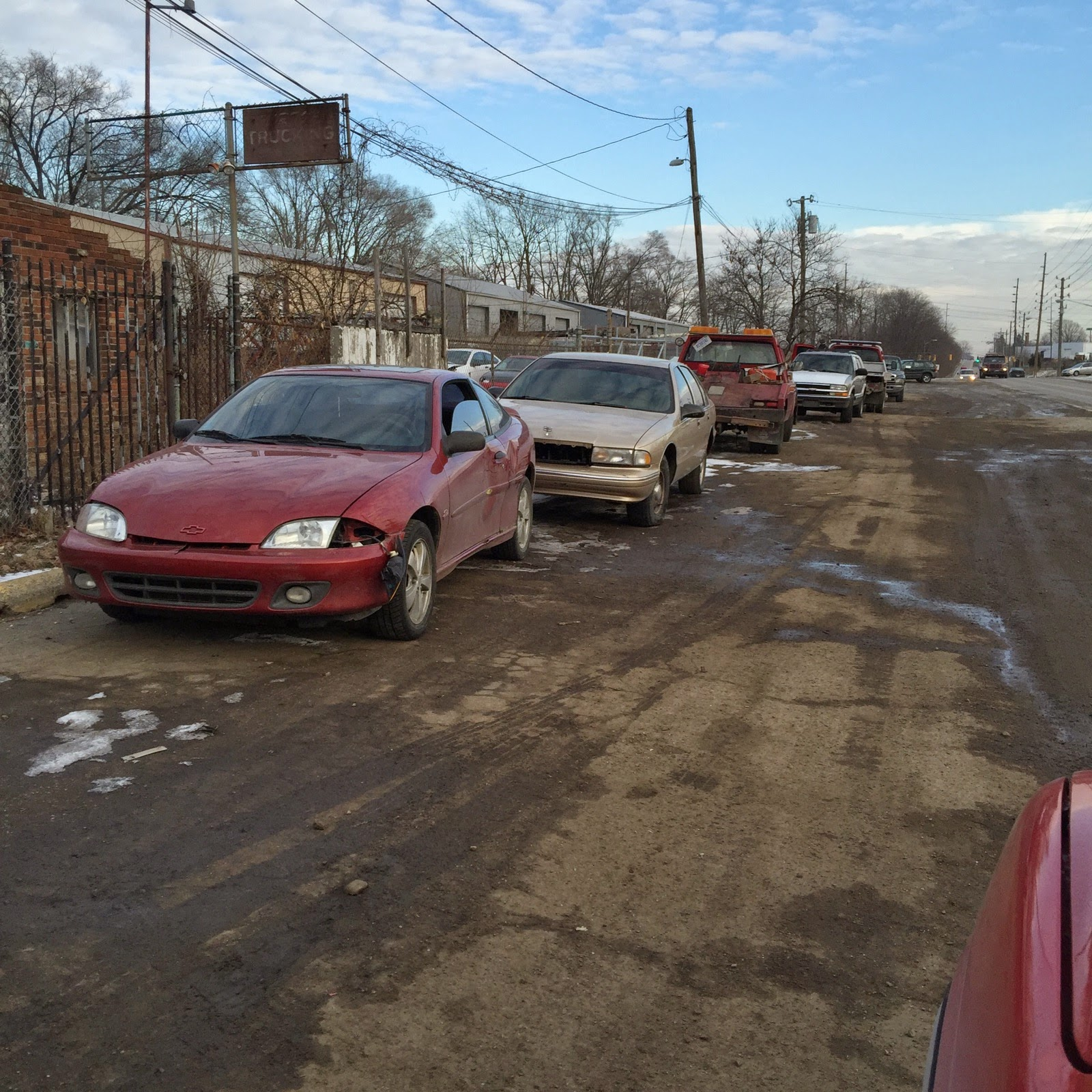 Salvage Yards Indianapolis: March 2015