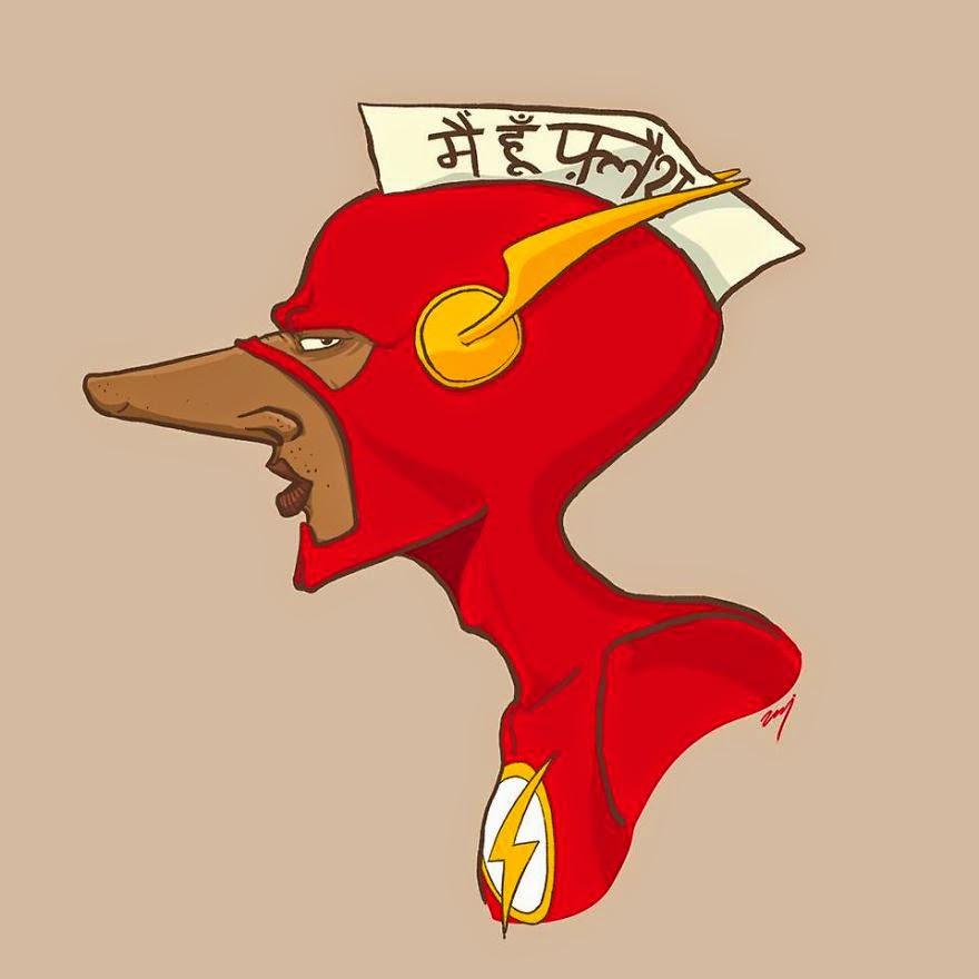Flash estilo Hindú