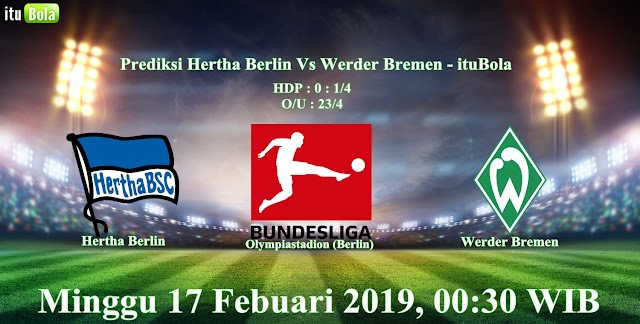Prediksi Hertha Berlin Vs Werder Bremen - ituBola