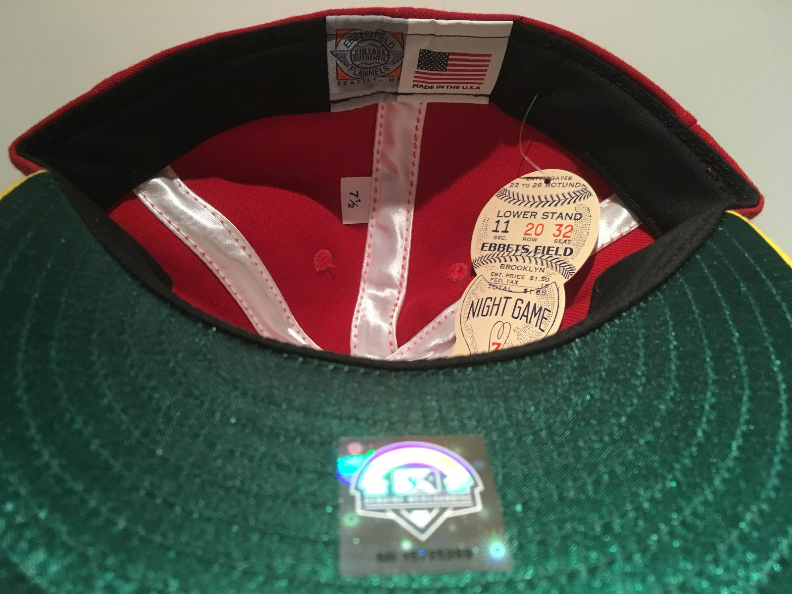 I have to give Ebbets props for the logo and cap construction in this retro  release. The caps from the 1980 s probably did not have black sweatbands  and ... 64eeb1601ef7
