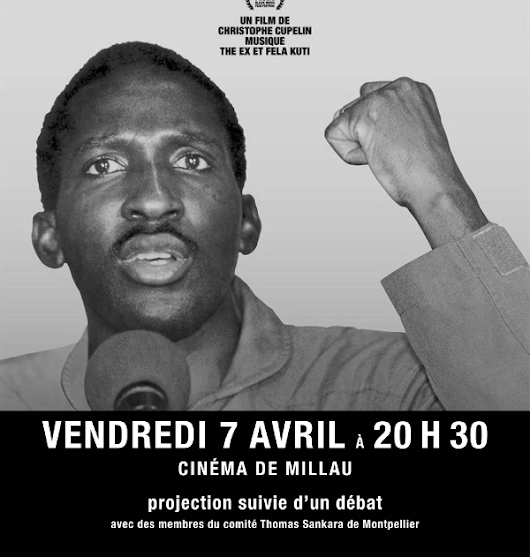 """Capitaine Thomas Sankara"" le 7 avril à Millau"