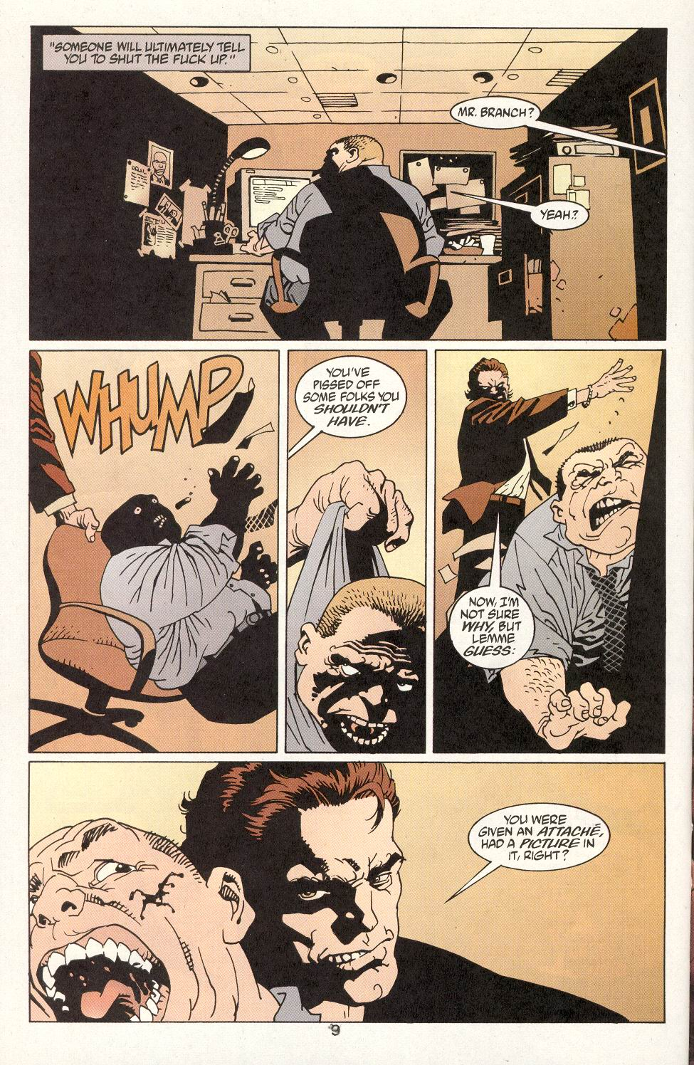 Read online 100 Bullets comic -  Issue #14 - 11