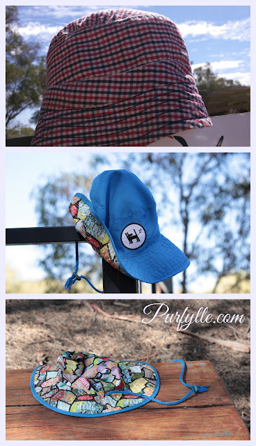 Rescuing lost hats hoping they will find their owners again.