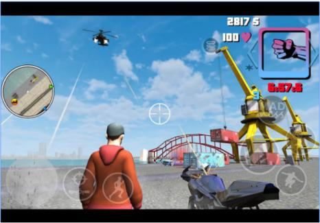 Game Mirip GTA Android Mad Crime Town Wars Two Islands Mod Apk