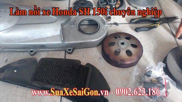 Làm nồi xe SH 150i chuyên nghiệp tại Tp.Hồ Chí Minh