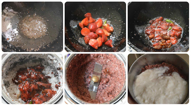 Strawberry Raita/Strawberry thayir pachadi