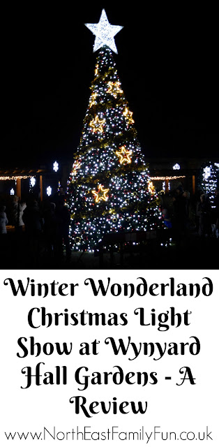 Winter Wonderland Christmas Light Show | A Wynyard Hall Garden Event - A Review