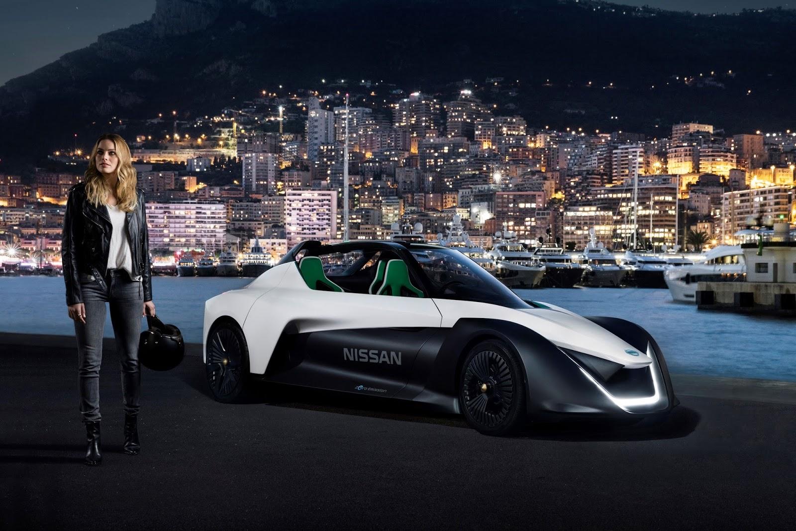 Η ηθοποιός Margot Robbie είναι η πρώτη πρέσβειρα ηλεκτροκίνητου οχήματος  της Nissan