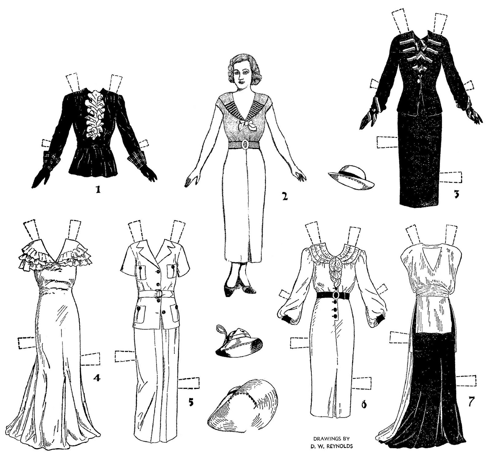 Mostly Paper Dolls Too!: May 2014