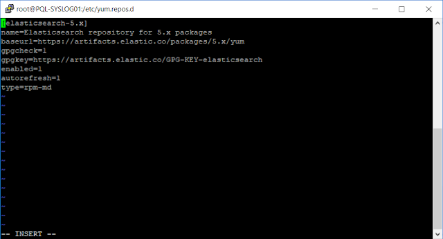 Thêm repo thư viện của Elasticsearch