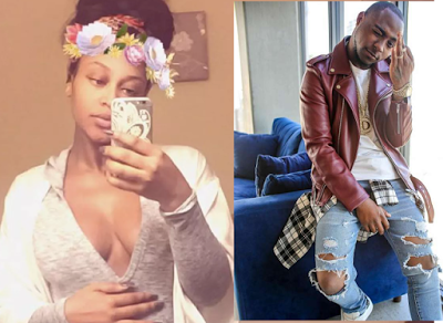 davido impregnates american girlfriend
