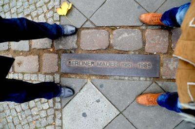 Confine Muro di Berlino