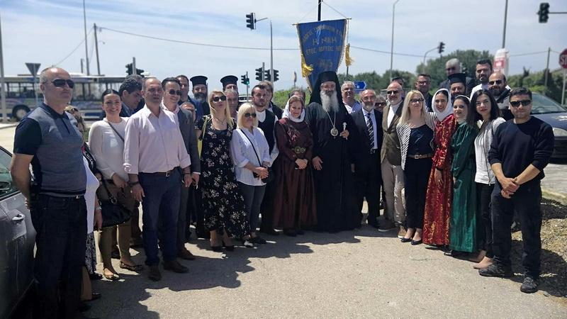 Σε οδό Αγίων Πέντε Νεομαρτύρων εκ Σαμοθράκης ονομάστηκε τμήμα της Περιφερειακής Οδού Αλεξανδρούπολης