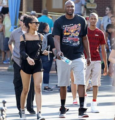 NBA star Lamar Odom 5555