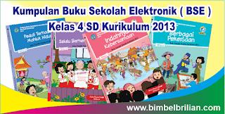 Kumpulan Buku Sekolah Elektronik ( BSE ) Kelas 4 SD Kurikulum 2013