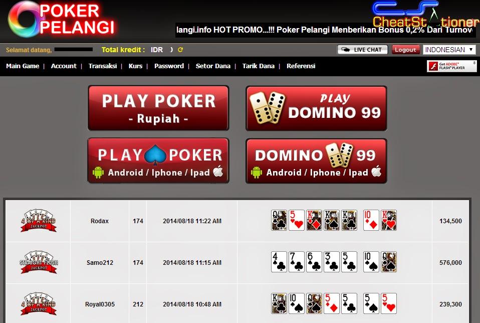 situs poker uang asli 2014
