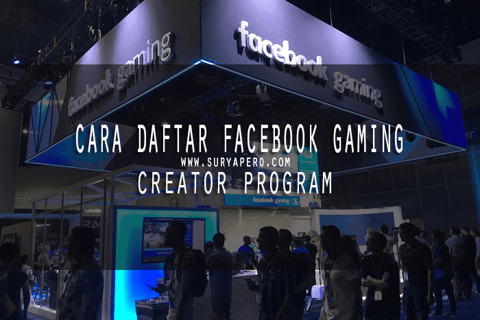 Cara Daftar Facebook Gaming Creator Program