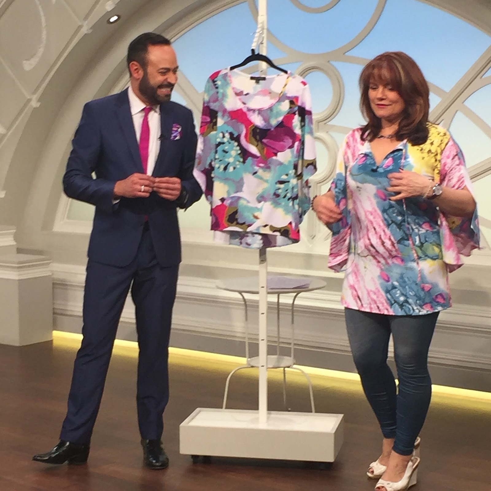 Nv Nick Verreos Qvc Uk March 2016 Show And Photo