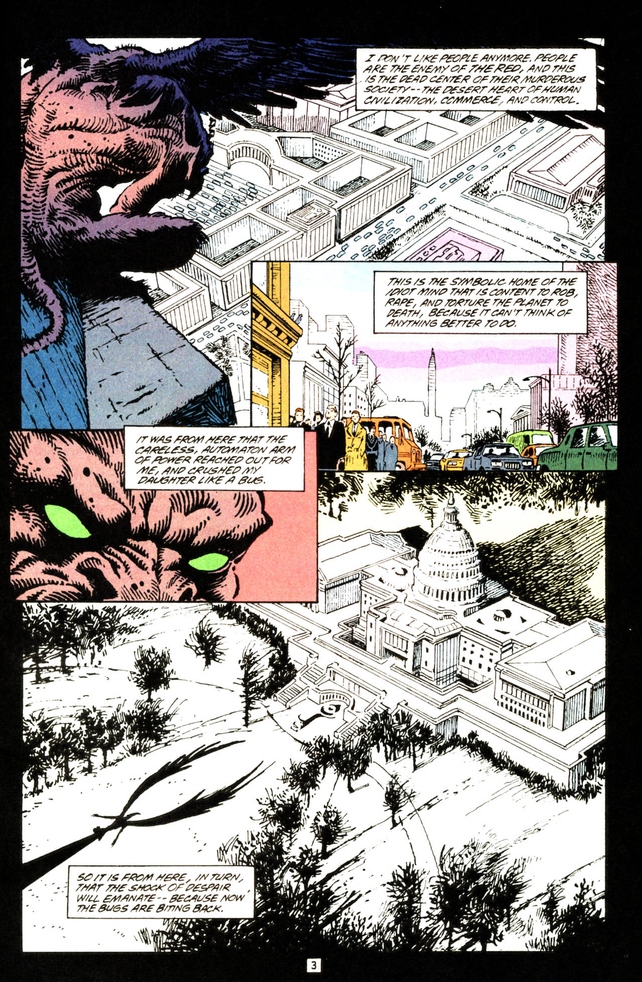 Read online Animal Man (1988) comic -  Issue #71 - 4