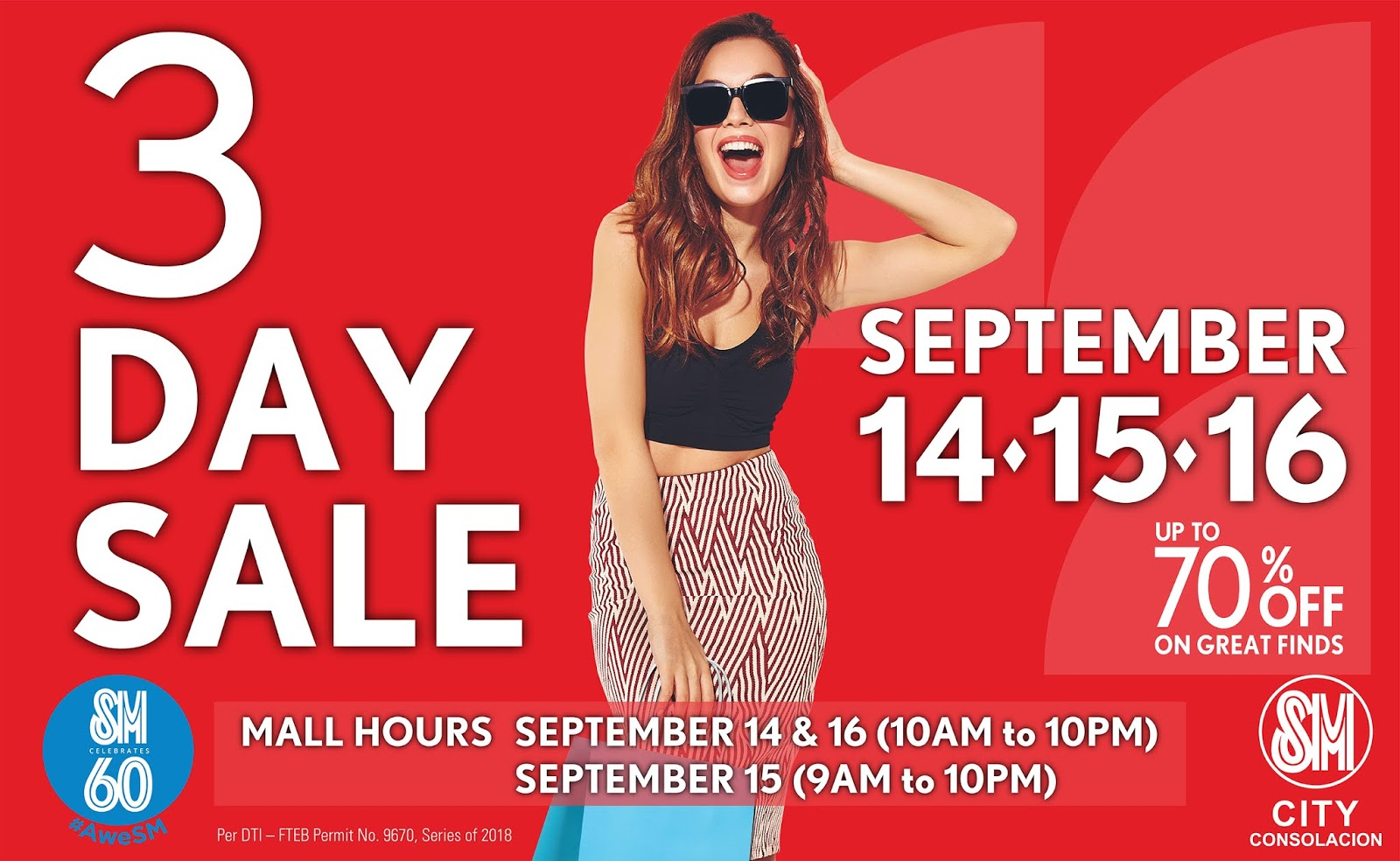 3 Big Reasons To Get Excited with SM Consolacion's 3-Day Sale