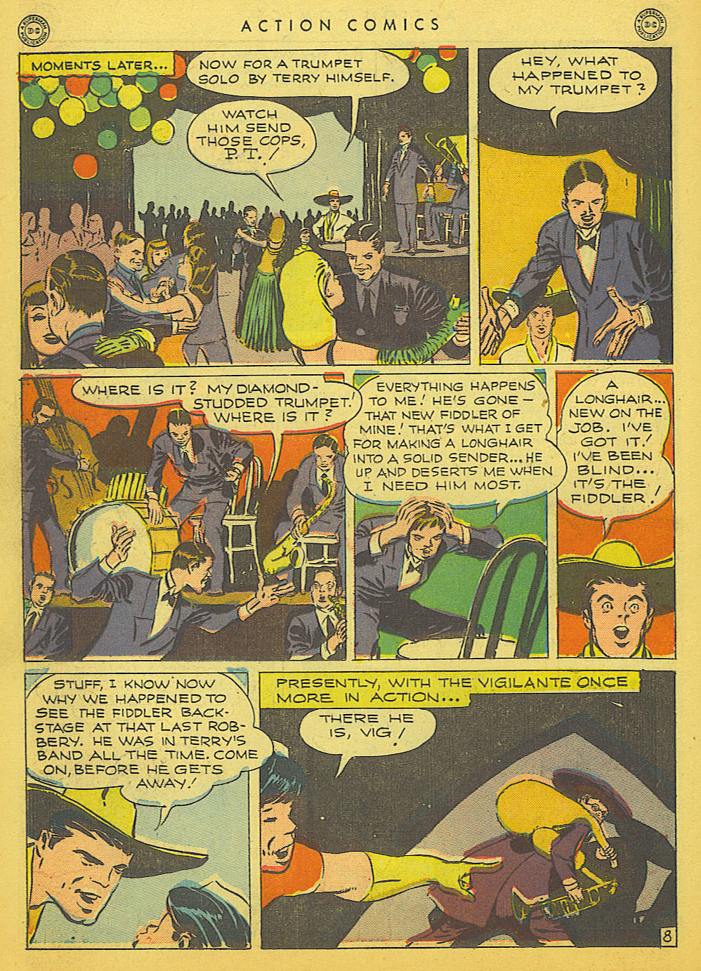 Read online Action Comics (1938) comic -  Issue #91 - 38