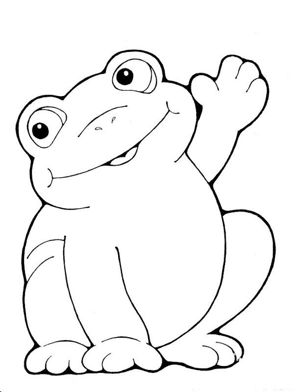 cute coloring pages of frogs | Coloring Pages For Frog And Toad