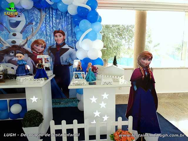 Tema da Frozen - mesa provençal - festa infantil