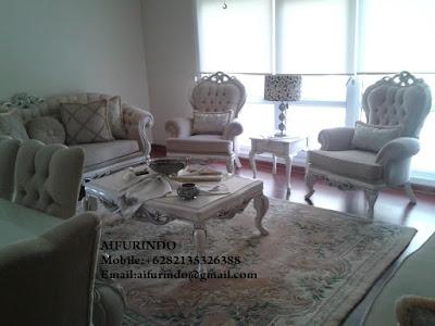 Indonesia Furniture Exporter,Classic Furniture,French Provincial Furniture Indonesia code A154 Livingroom Sofa Classic High class