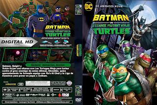 BATMAN VS LAS TORTUGAS NINJAS – BATMAN VS TEENAGE MUTANT NINJA TURTLES -2019 [COVER DVD+BLU-RAY]