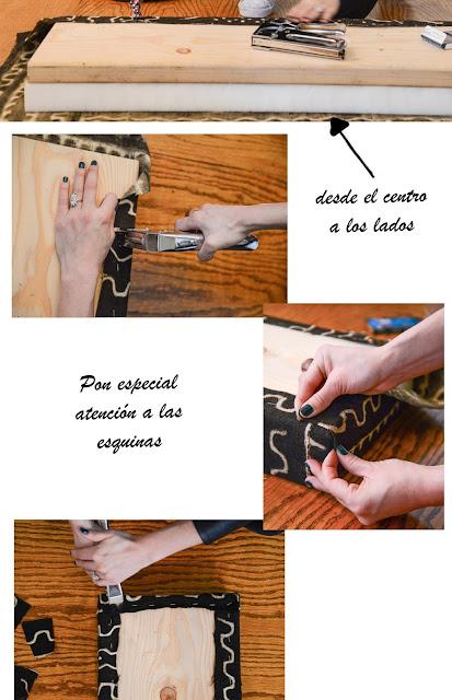 pasos para tapizar